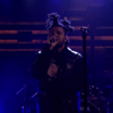 """The Weeknd Performs """"Pretty"""" Live On Jimmy Fallon"""