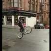 Watch Marshawn Lynch Play Chicken With A Bus In Scotland