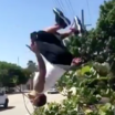 I Bet His Life Flashed Before His Eyes After This Backflip