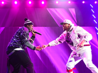 "Chris Brown Brings Out 50 Cent & G-Unit At The ""Between The Sheets"" Tour"