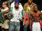 50 Cent Squashes Beef With Floyd Mayweather