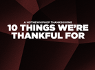 A HotNewHipHop Thanksgiving: 10 Things We're Thankful For