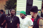 Meek Mill Breaks Up Near-Brawl Between 50 Cent & Trav