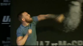 Chaos Breaks Out At UFC 202 Press Conference