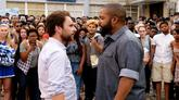 """Ice Cube Squares Up With Charlie Day In New Comedy """"Fist Fight"""""""
