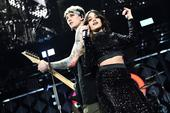 "Machine Gun Kelly And Camila Cabello Perform ""Bad Things"" On Ellen Show"