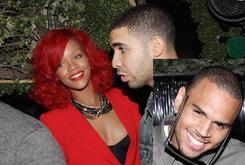 Rihanna, Chris Brown & Drake Attend Party In Hollywood