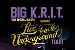 """Big K.R.I.T. Announces """"Live From The Underground"""" Tour"""
