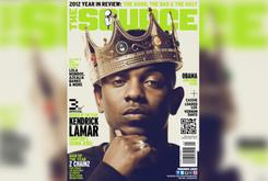 """Kendrick Lamar Covers The Source's """"Rookie Of The Year"""" Issue"""