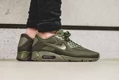 "Stay Cool In This Nike Air Max 90 ""Medium Olive"" Ultra BR"