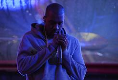 """Kanye West Screens """"Famous"""" Video Across Buildings In NYC"""