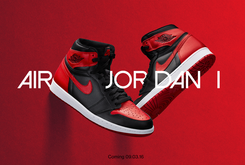 "Release Reminder: The ""Banned"" Air Jordan 1 Returns Tomorrow"
