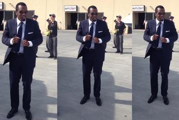"Diddy ""Dances To Problem's ""Like Whaaat"" On His Jet"" Video"