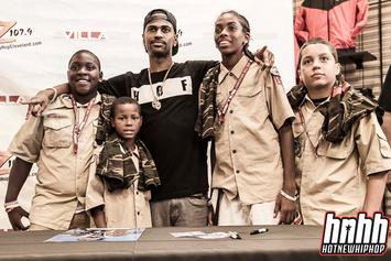 """Photos: Big Sean's """"Hall Of Fame"""" Block Party In Ohio"""