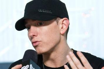 "Eminem Lists Favorite Rappers Of All Time, Breaks Down ""Rap God"" Writing Process"
