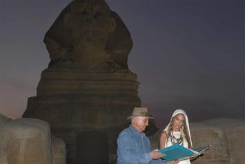Beyoncé Kicked Off Egyptian Pyramid Tour By Archaeologist Zahi Hawass