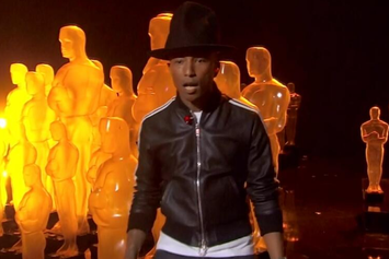 "Pharrell Performs ""Happy"" Live At The Oscars"