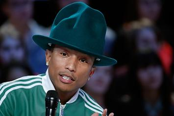 "Pharrell Announces ""Dear G I R L"" European Tour Dates"
