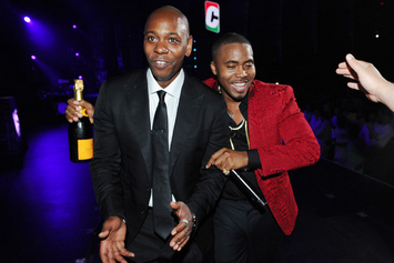 Nas Performs At Dave Chappelle's Show At Radio City Music Hall