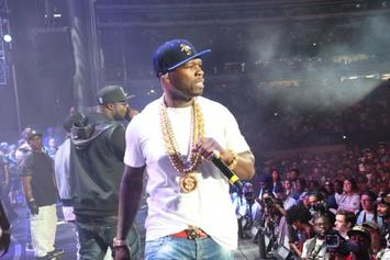 50 Cent's Son Takes Photo With Floyd Mayweather
