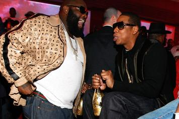 """Rick Ross Announces New Track With Jay Z, """"Movin' Bass"""" [Update: Artwork Revealed; Single Expected To Drop Later Tonight]"""