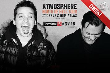 Contest: Win Tickets To See Atmosphere Live In NYC