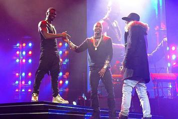 Usher Brings Out Trey Songz & August Alsina In Chicago