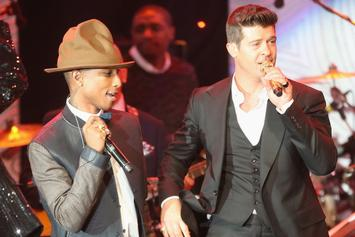 "Pharrell & Robin Thicke Earned A Combined $5 Million From ""Blurred Lines"""