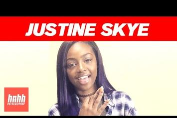 """Justine Skye Talks """"Emotionally Unavailable"""" EP, """"Collide,"""" & Her Love For """"Trap Queen"""""""