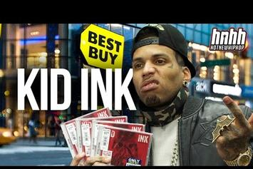 """Kid Ink Visits Best Buy On """"Full Speed"""" Release Day"""