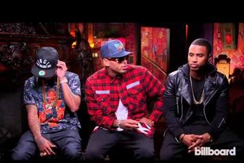 "Chris Brown, Trey Songz & Tyga Talk ""Between the Sheets"" Tour"
