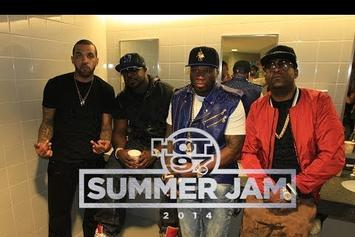 50 Cent At Summer Jam 2014