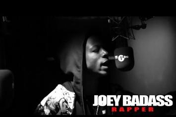 """Joey Bada$$ Feat. Kirk Knight """"Fire In The Booth (Freestyle)"""" Video"""