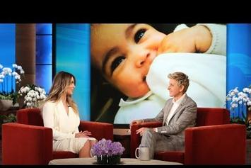 Kim Kardashian Shows Off New Photos Of North West On Ellen