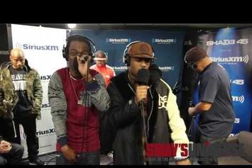 "Audio Push Freestyle On ""Sway In The Morning"""