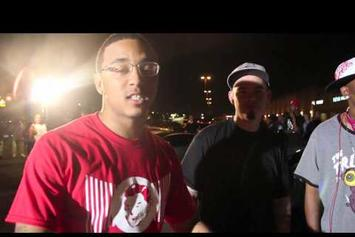 "Kirko Bangz Feat. Z-Ro, Slim Thug & Paul Wall ""BTS Of ""Cup Up Top Down"""" Video"