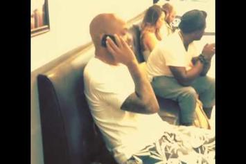 """Jay-Z """"Dame Dash Listens to """"Magna Carta Holy Grail"""""""" Video"""
