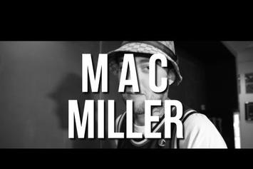 "Mac Miller ""Talks About Dropping LP On Same Day As Kanye & Cole"" Video"