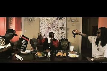 "Gucci Mane Feat. Waka Flocka & PeeWee Longway ""Breakfast"" Video"