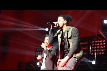 "Miguel Feat. J. Cole ""Perform ""Power Trip"" (Live At Barclays Center)"" Video"