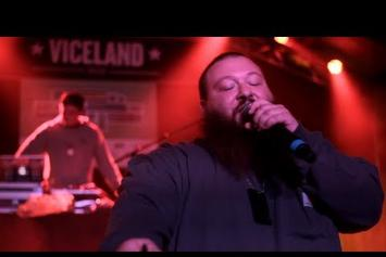 "Action Bronson ""Discusses Obscure Sports References"" Video"