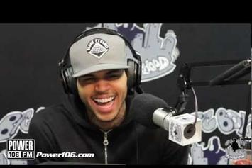 """Chris Brown """"Talks About Being A Painter"""" Video"""