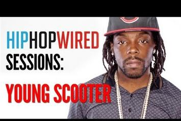 """Young Scooter """"Freestyles & Discusses """"Street Lottery"""""""" Video"""