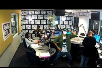 "French Montana ""Does Harlem Shake With Power 106"" Video"
