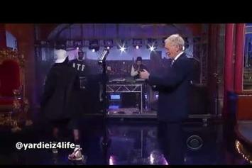 """ASAP Rocky """"Performs """"Long.Live.A$AP/Wild For The Night"""" On David Letterman"""" Video"""