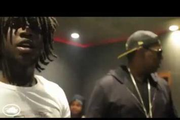 "Chief Keef ""In The Studio With Fat Trel & Master P"" Video"