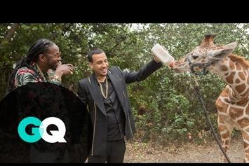 "2 Chainz & French Montana Feed A $40K Giraffe In ""Most Expensivest Shit"""