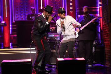 "Jamie Foxx & Kid Ink Perform ""Baby's In Love"" On Fallon"