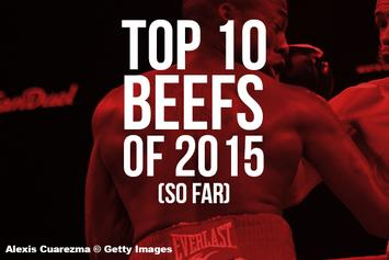 The Top 10 Beefs Of 2015 (So Far)