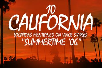 """10 California Locations Mentioned On Vince Staples' """"Summertime '06"""""""